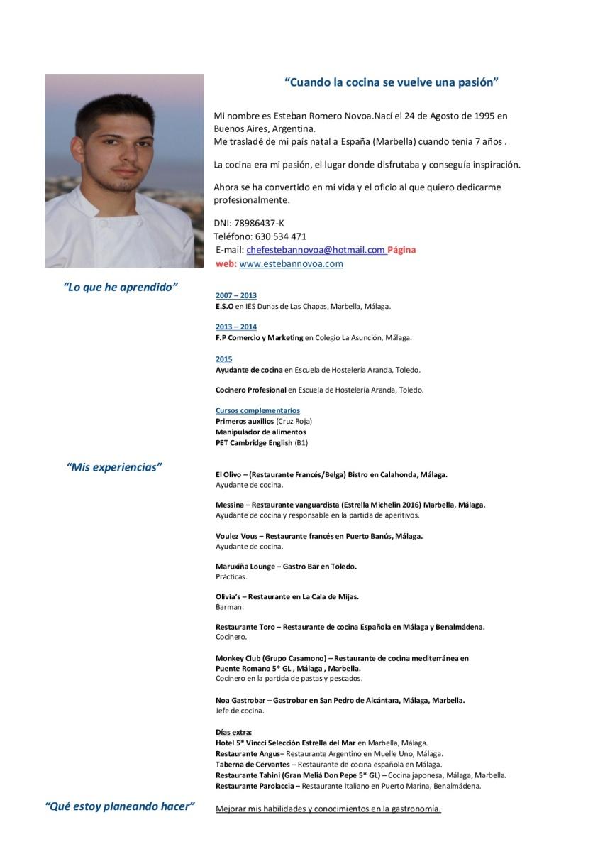 Asombroso Mi Currículum Ayudante Motivo - Colección De Plantillas De ...
